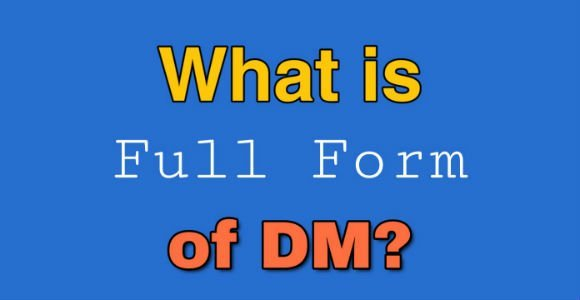 What is the full form of DM in UPSC medical & social media