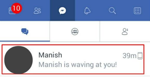Waving meaning in Hindi (Facebook waving क्या हैं)
